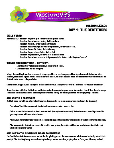Mission:VBS - BMA Missions